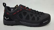 Salewa Mens Firetail 3 GTX Hiking Shoes 63445 Blackout/Papavero Size 10.5