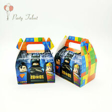 6pcs Batman Theme Birthday Party Decoration Candy Box for Kids Party Supply