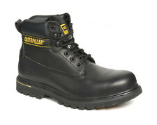 CAT Caterpillar Holton Safety Mens Steel Toe Cap Work Boots Shoes