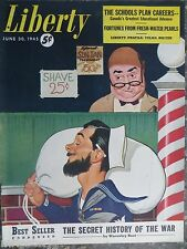Canadian Liberty Magazine  June 30,1945  *Cover by Del Holcomb*  GREAT ADS