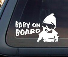 """Baby on Board"" Sign Carlos Hangover Funny Car Decal / Sticker"