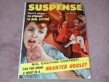 SUSPENSE magazine # 4 from 1959, from the same publisher as Shock Tales