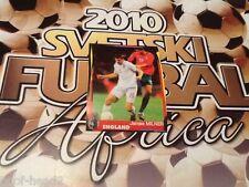 #129 James Milner England SchoolShop Svetski Fudball 2010 sticker Aston Villa