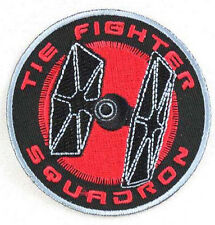 STAR WARS TIE FIGHTER SQUADRON IRON-ON MATERIAL PATCH