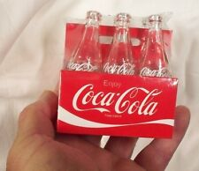 Coca-Cola Miniature Empty Bottle 6-Pack