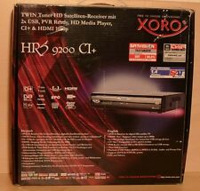 Xoro HRS 9200 HD 1080p DVB-S2 digitaler Satellitenreceiver HDMI schwarz ~B-Ware