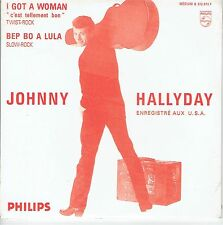 - CD-JOHNNY HALLYDAY- I Got a Woman- Be Bop a Lula