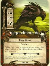 Lord of the Rings LCG  - 2x Evil Crow  #040 - The Black Riders