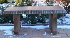 """MOLD CONCRETE TOP BENCH LONG 40"""" COVER CEMENT BENCHES TOP ONLY #B03"""