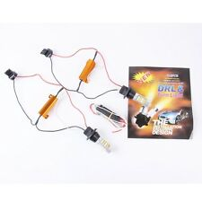 2 PCS T20 50W 1000LM  21 x 2835W + 21 x 2835Y White + Yellow  Light DRL&Turn Lig
