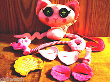 Lalaloopsy Buttontails Plush Stuffed Cat Pink Design A Pet