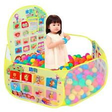 Kid Safety Tent Foldable Ocean Ball Pool Baby Toy Playhouse Pit Outdoor Indoor