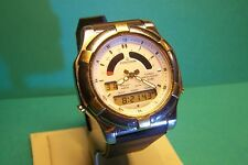 Vintage Casio Poseidon Watch Casio Quartz Watch Casio Chronograph Watch