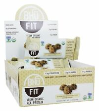 Bhu Fit - Vegan Organic Pea Protein Superfood Chocolate Chip + Cookie Dough - 12