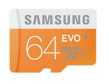 Samsung carte micro sd 64GB classe 10 - 48 mbit/s-sdxc-uk stock-neuf