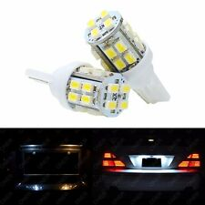 2 x T10 Xenon White 20 SMD LED 168 194 2825 W5W For Dodge License Plate Lights