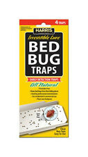 HARRIS BED BUG TRAPS 4 PACK  BBTRP