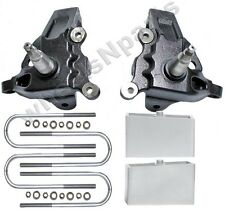 "3.5"" Front Lift Spindles 3"" Rear Aluminum Blocks Kit Ford F150 1997 - 2003 2wd"