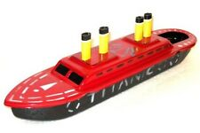 TITANIC POP-POP Boat CRUISE SHIP Putt vtg style Tin Candle/Steam Power New/Box