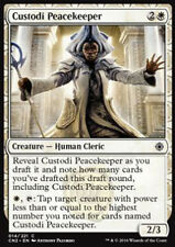 MTG 4x CUSTODI PEACEKEEPER -  - CN2 - MAGIC