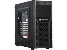COUGAR Solution2 Black Steel ATX Mid Tower Computer Case