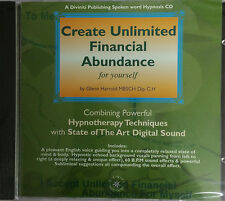 CREATE UNLIMITED FINANCIAL ABUNDANCE - GLENN HARROLD  AUDIO HYPNOSIS CD