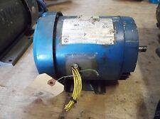 U.S. ELECTRICAL .5 HP MOTOR 1745 RPM, 208-230/460 VOLT, 3 PH, FR 56C (USED)