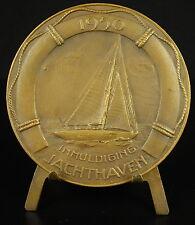 Inhuldiging jachthaven 1950 maatschappij van de linker scheldeoever Escaut medal