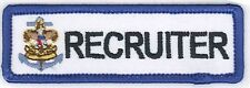 Sea Scoout RECRUITER Strip Boy Scouts non-BSA Private Issue Patch