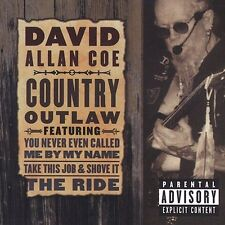 Country Outlaw [PA] by David Allan Coe CD