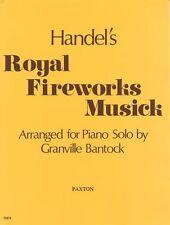 HAENDEL FEUX D'ARTIFICE ROYAUX musique apprendre à jouer de la musique classique piano Livre