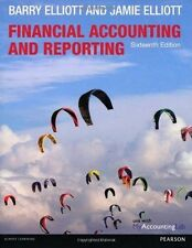 Financial Accounting and Reporting Sixteenth Edition Barry And James Elliott
