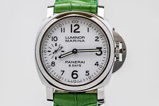 Panerai Luminor Marina 8 Days Caliber P. 5000 44mm White Dial Watch PAM 563