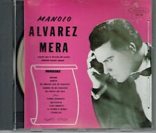 Manolo Alvarez Mera Orquesta Dirigida por Valdes Arnau  BRAND NEW SEALED CD