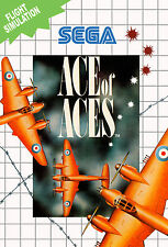 ACE of ACES SEGA Master System Framed Print (Man Cave Picture Game Gaming Art)