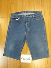 "Levi used 501 high waisted cut off shorts USATag 40"" Meas 36"" Inseam 15"" 9804R"
