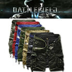 NEW Fashion Mens Cargo Pants Shorts Trousers Casual Military Army CAMO Combat