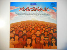 "MAXI 12"" POP 80s  ▒ USA FOR AFRICA : WE ARE THE WORLD ( 7'19 )"