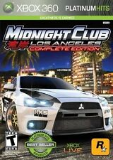 Midnight Club: Los Angeles - Complete Edition - Xbox 360 Game