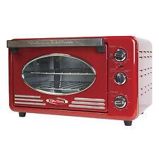 Nostalgia RTOV220RETRORED Retro Series Convection Toaster Oven