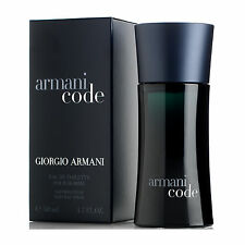 Giorgio Armani Code Eau de Toilette Spray for Men 50 ml - Free Delivery - Offer