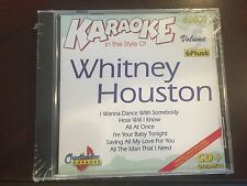 CHARTBUSTER 6+6 KARAOKE DISC 40082 WHITNEY HOUSTON #5 CD+G POP MULTIPLEX SEALED