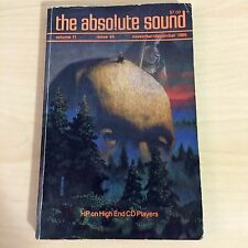 The Absolute Sound Issue Volume 11 Number 44, 1986 TAS Audio Research SP-11
