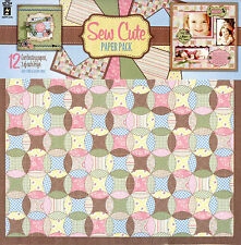 """Sew Cute"" Paper Pack from Hot Off The Press"