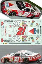 NASCAR DECAL #21 CITGO SUPERGARD 60's RETRO SCHEME 2000 FORD TAURUS E. SADLER
