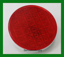 """Grand General 4"""" Round Smart Dynamic SST Light 26 Red LEDs Sequential Pattern"""