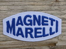 ECUSSON PATCH THERMOCOLLANT aufnaher toppa MAGNETI MARELLI automobile moto auto