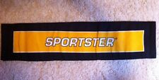 """Harley-Davidson NOS Sportster Two sided Canvas Banner  11""""W x 48""""H"""