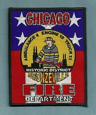 CHICAGO FIRE DEPARTMENT ENGINE 19 TRUCK 11 COMPANY PATCH