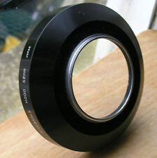 52mm Wide angle large metal screw in lens hood used